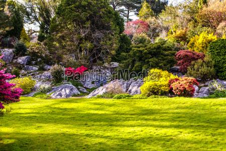 gardens muckross killarney national park irland