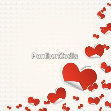 valentines day symbols hearts