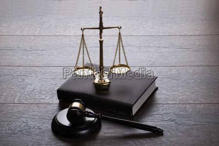 judge gavel and scales