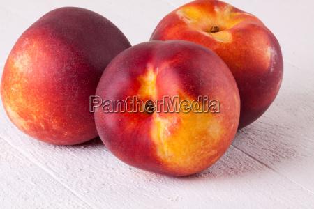 fresh nectarines oranges peaches close up