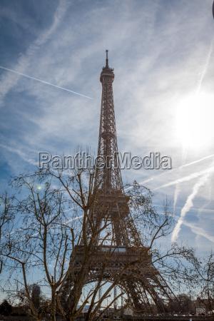 eiffel tower in paris sign in