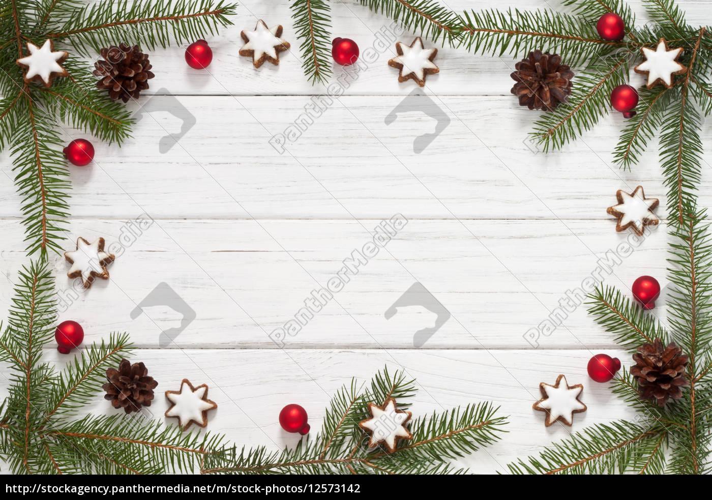 weihnachtlicher rahmen stock photo 12573142. Black Bedroom Furniture Sets. Home Design Ideas