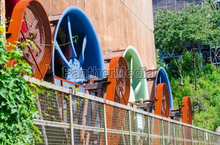 industriegebaeude kuehlwerk rotor