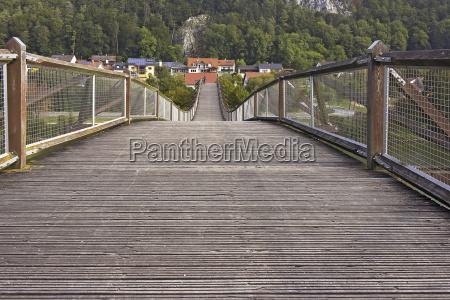 bike bridge in essing