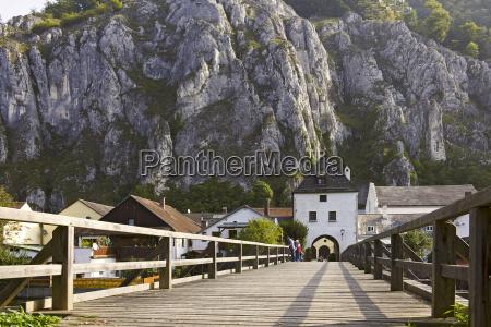 house building historical bridge bavaria place