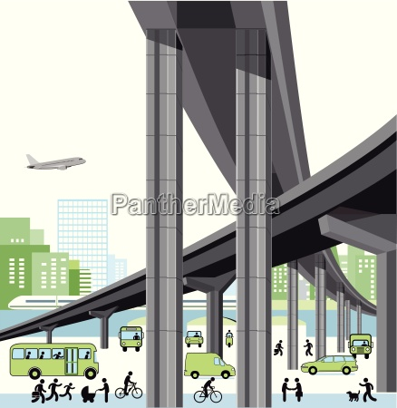 city highway and transportation