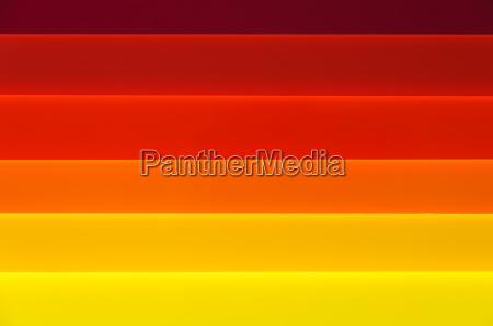 hintergrund aus plexiglas mit leuchtende farben