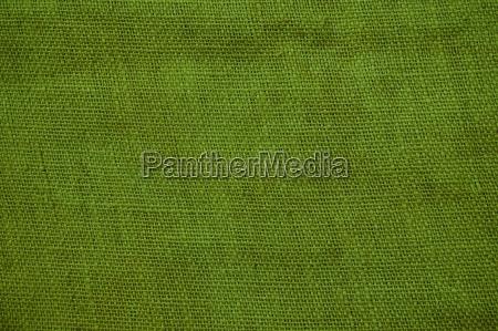 coarse cloth background green