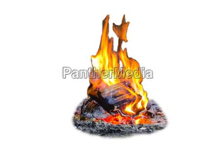 feuer flammen hintergrund