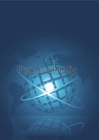 abstract business background konzept illustration
