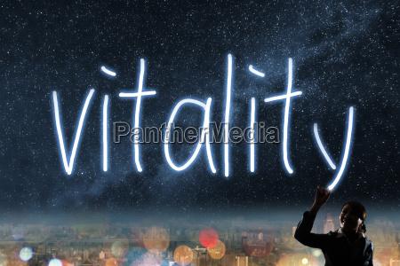 konzept der vitalitaet