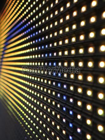 rgb led wall