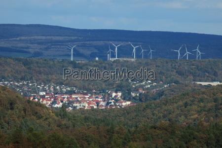 windenergieanlage bei eisenach