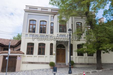 historical buildings in plovdiv bulgaria candidate
