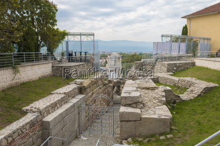 ancient roman amphitheater plovdiv bulgaria plovdiv