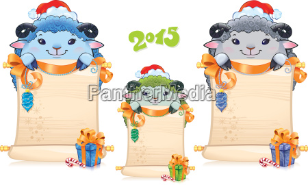 schaf astrologie neujahr schriftrolle sterndeutung lamm