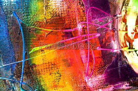 abstrakte malerei struktur