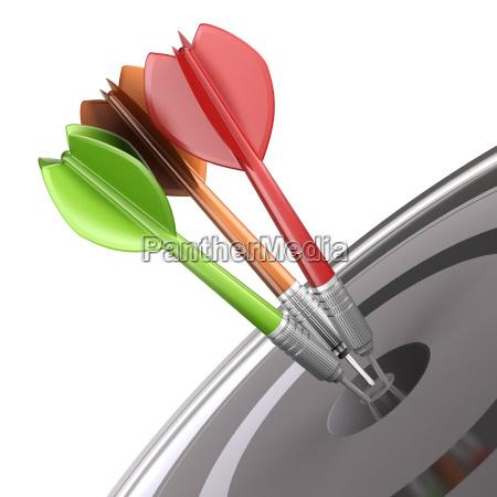 dart und target marketing strategie