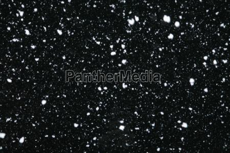 snowfall at night