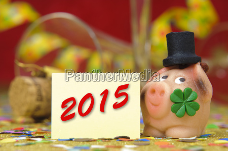 new year 2015 lucky charm