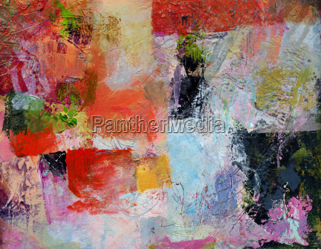 oil paint painting abstract