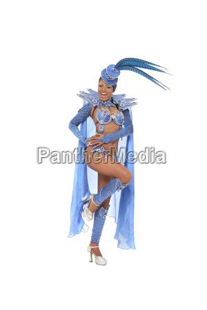 brasilianische samba taenzerin