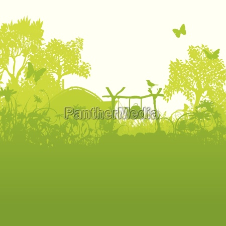 zelt und zeltplatz im gras und
