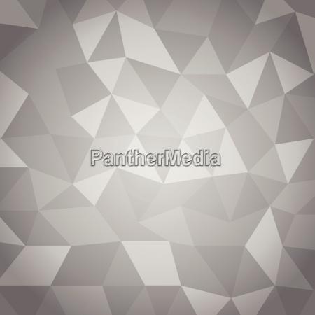 abstrakt dreieck mit grauem hintergrund
