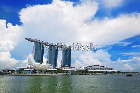 singapur an der tageszeit
