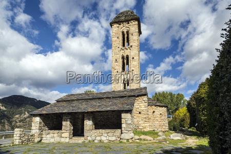 romanische kirche sant miquel d engolasters