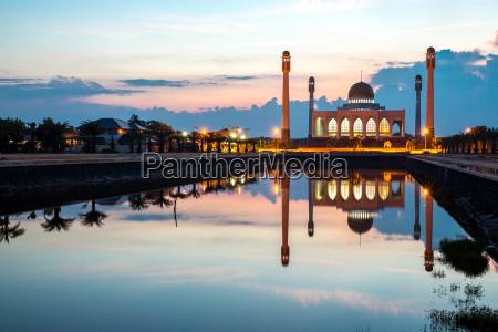 zentrale moschee songkhla thailand