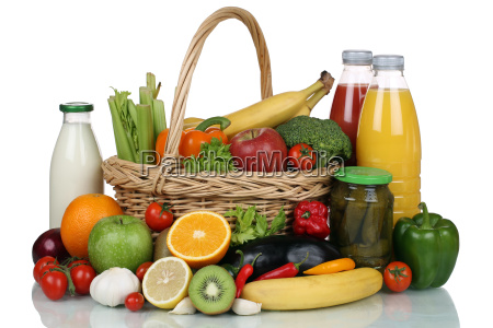 fruechte gemuese obst lebensmittel einkaeufe im