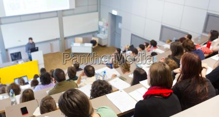 vorlesung an der universitaet
