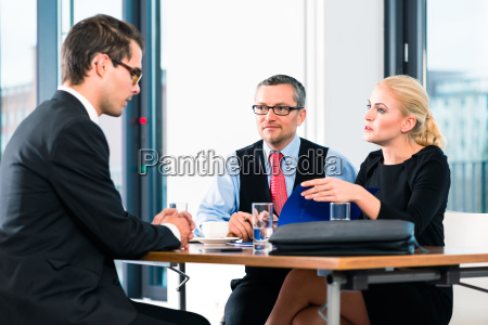 business interview for application