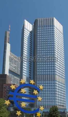 europaeische zentralbank in frankfurt am main