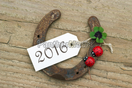 text lettering 2016 card happy new