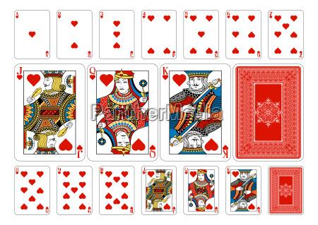 poker size herz spielkarten und umgekehrt