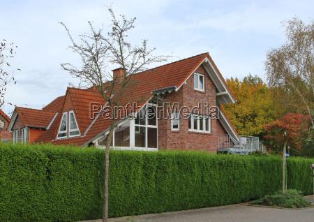 wohnhaus landsitz hecke