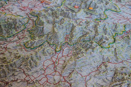 3d model map geographic