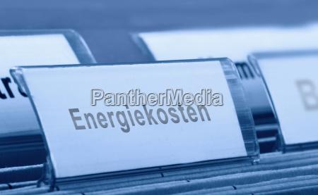 energiekosten ablage