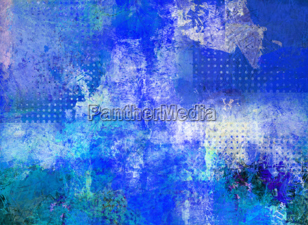 painting abstract opaque glaze