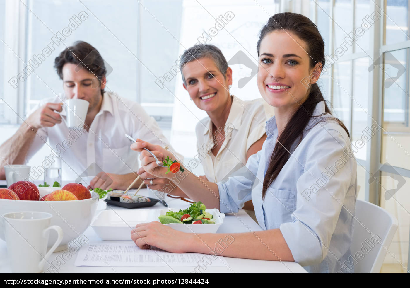 arbeiter, essen, mittagessen, und, trinken, kaffee - 12844424