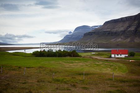 east iceland nature fjord landscape
