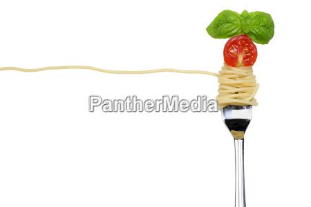 optional spaghetti pasta pasta dish on