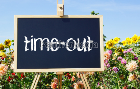 time out relax concept