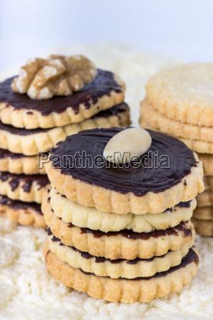 cookies biscuits bake nut walnut food