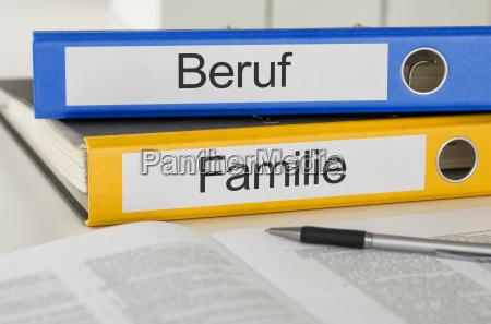 ufficio carriera scrivania archiviare lavoro famiglia