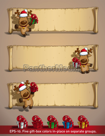 christmas elks papyrus gifts