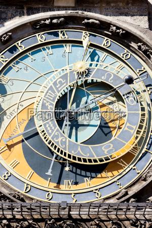 horloge auf dem altstaedter ring prag
