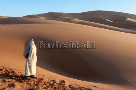 beduinen, in, der, sahara., marokko, afrika - 12910736